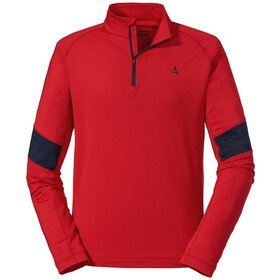 Schöffel Glatthorn Longsleeve Heren, high risk red